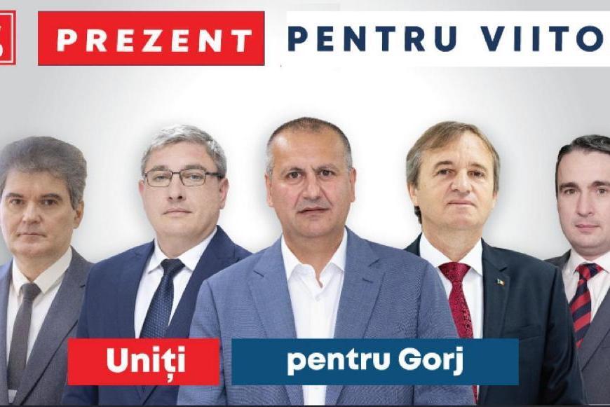 """Cosmin Popescu:""""Vă chem să fiți alături de echipa PSD Gorj"""""""