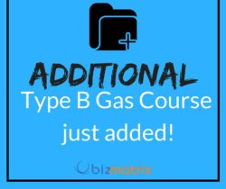 Additional Type B Gas Course Added!
