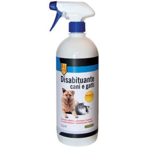 disabituante per cani e gatti zoodiaco in spray da 1 litro