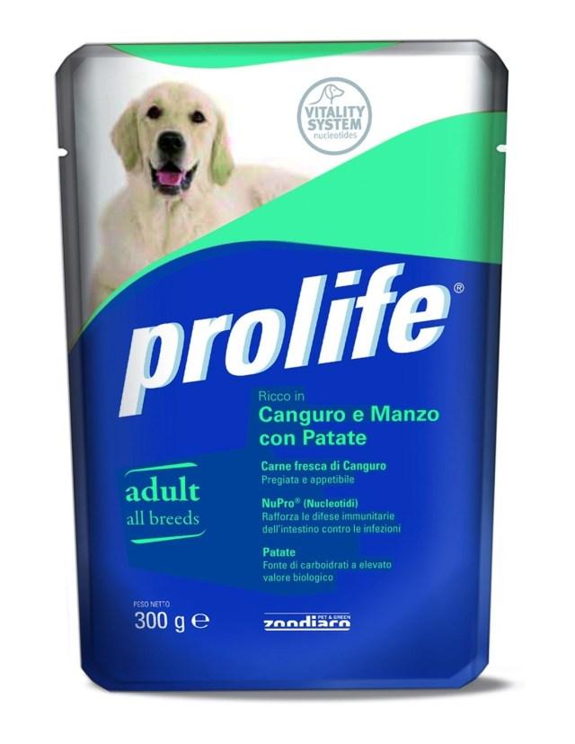 Prolife Dog Adult All Breeds Canguro e Manzo con Patate – 300 gr