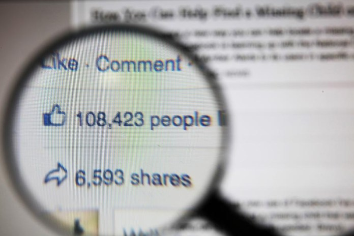 Facebook likes and shares