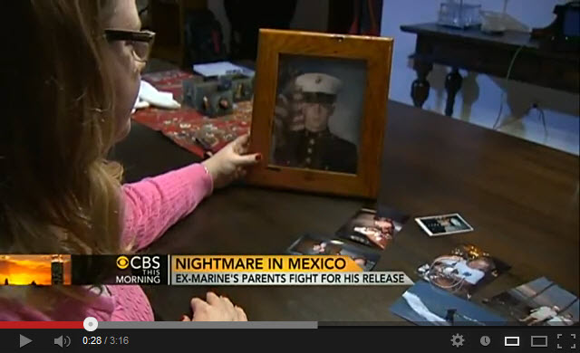 Marine in Mexican jail