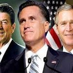 romney, Reagan, Bush
