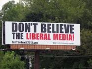 liberal media billboard
