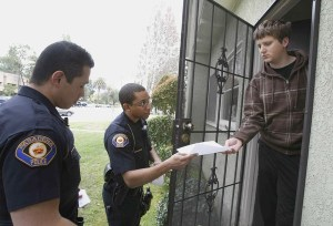 Police home inspection