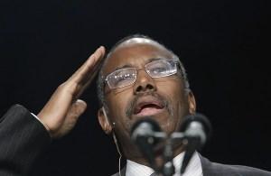 Dr. Benjamin Carson Speaks During National Prayer Breakfast
