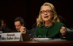Hillary Clinton on the Hill