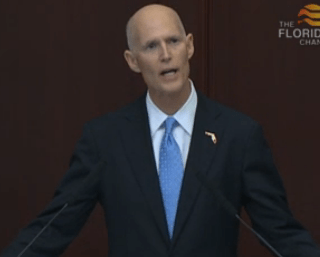 Gov Scott state of state