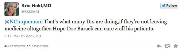 obamacare tweets