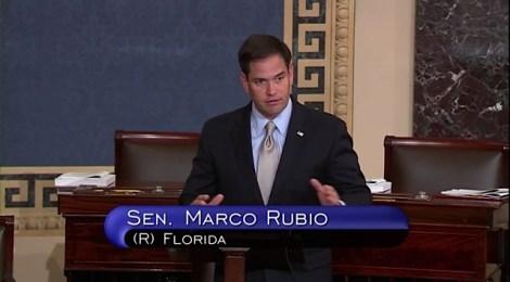 Marco Rubio floor speech