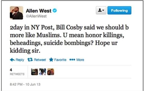 West tweet