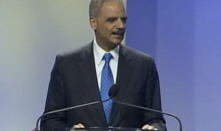 Eric Holder at NAACP