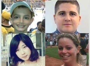 photo collage Boston victims