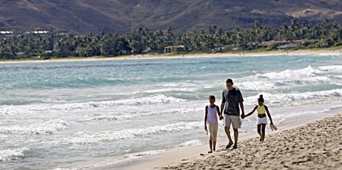 FAMILY TRADITION: Since first winning the White House in 2008, the first family has vacationed in President Obama's native Hawaii during the Christmas season. AP file photo
