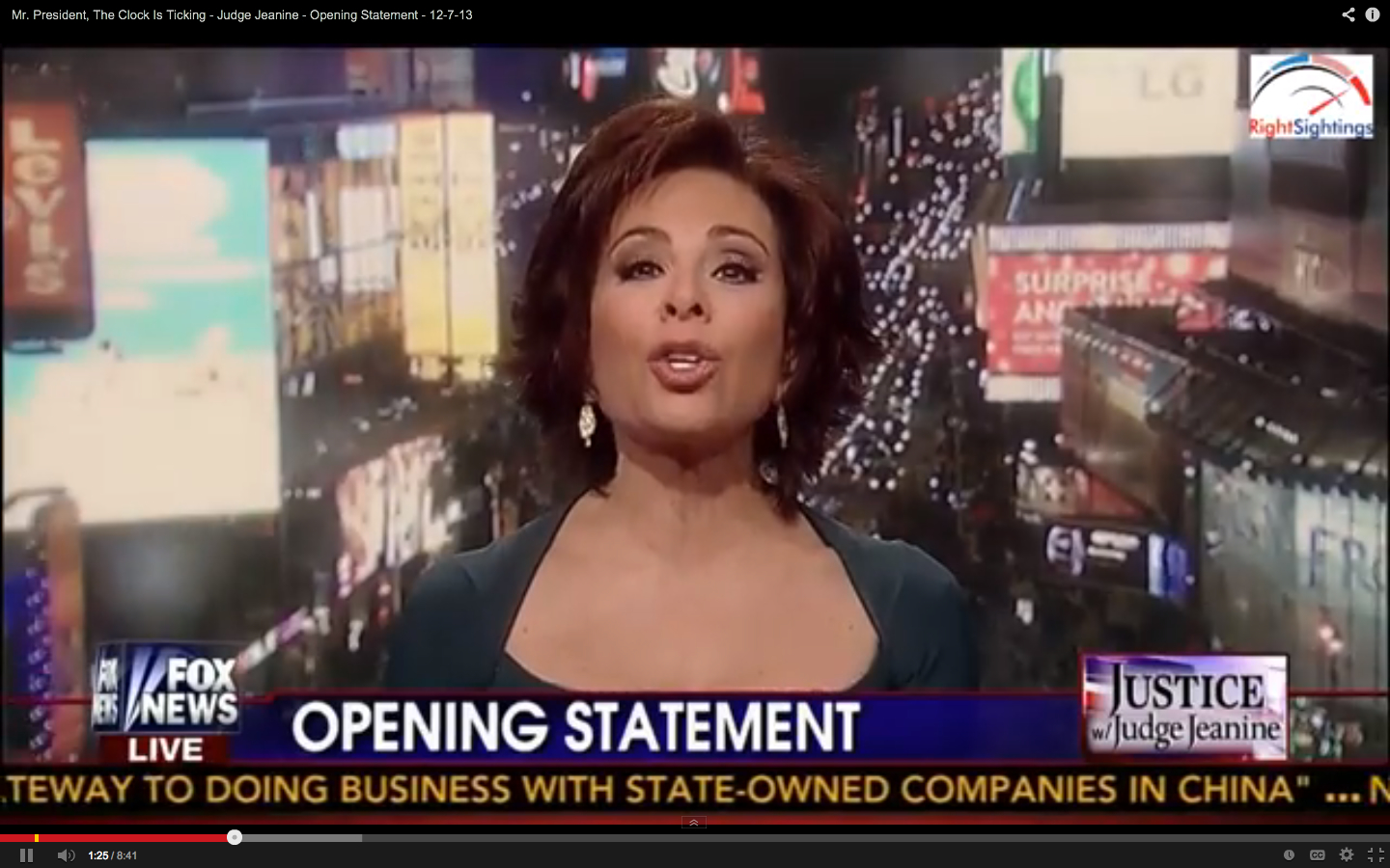 Judge Jeanine Hang On To Your Hats Another Big Lie About