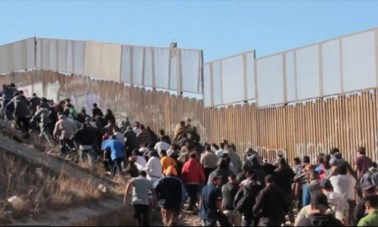 Illegals Crossing Border