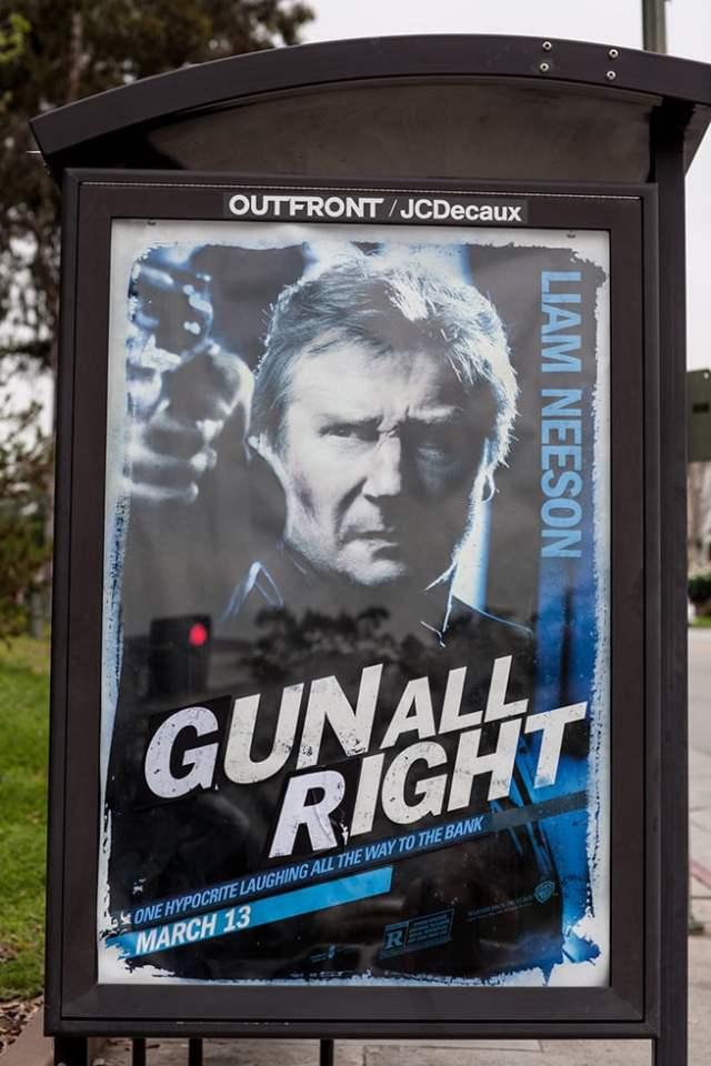fake movie poster mocks �antigun� actor liam neeson for