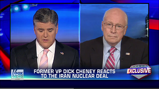 """Cheney on """"Hannity"""""""