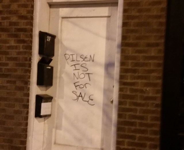 Pilsen not for sale