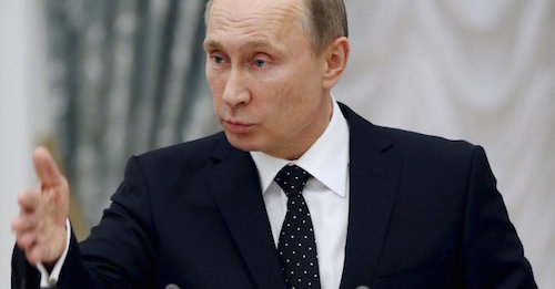 Putin points finger at Obama for downed Russian military ...