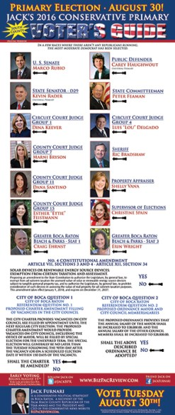 Jack's 2016 South Palm Beach County Voter's Guide