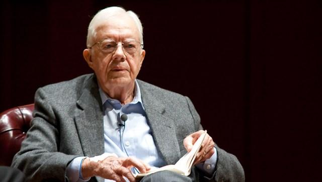 Former President Jimmy Carter, credit Shutterstock.