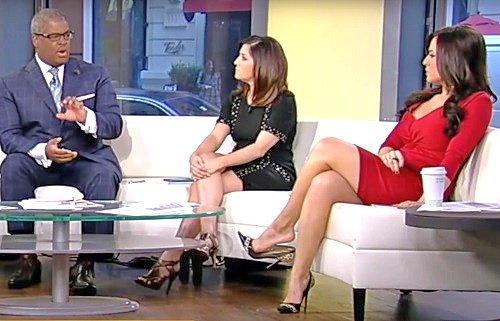 Andrea Tantaros legs outnumbered lawsuit screenshot