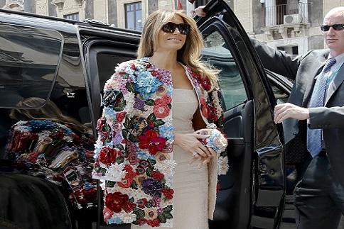 Melania Trump AP