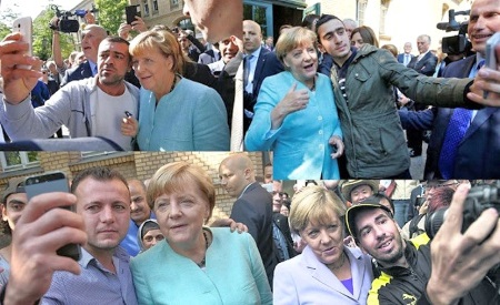 angela-merkel-muslim-refugees-selfies europe cant rely on us
