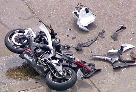 screenshot motorcycle accident palm beach sanctuary welcoming city Brandon Wesson victor rivera