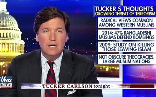tucker carlson if you love america dont let it be europe defend what you love