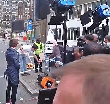 cnn staged isis protest fake news