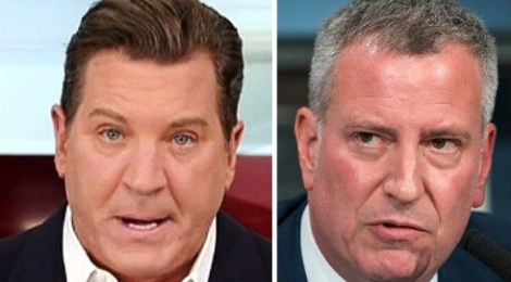eric bolling bill de blasio skips nypd to protest G20 summit