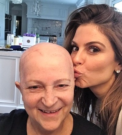 maria menounos diagnosed brain cancer mom Litsa battle stage 4 cancer