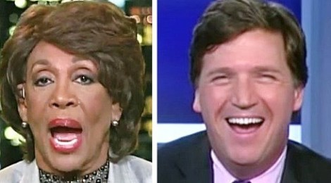 tucker carlson maxine waters president