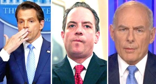 anthony scaramucci reince priebus john kelly white house leaks