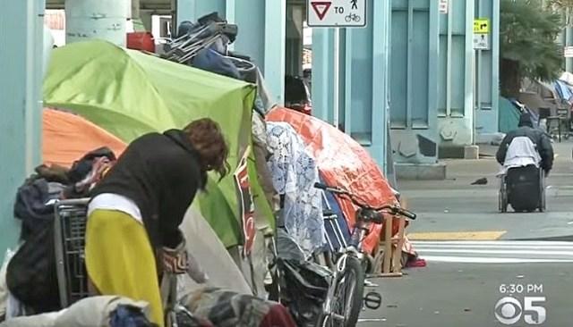 san francisco homeless problem calexit tucker carlson