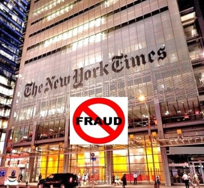 new york times best seller list is a fraud