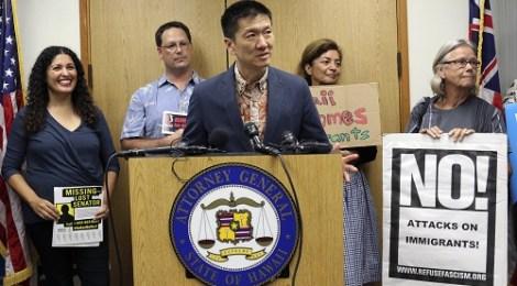 AP Travel Ban Lawsuit Hawaii