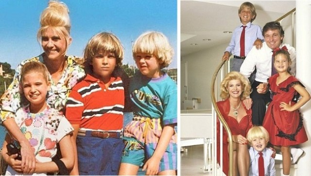 ivana donald trump family children old photos