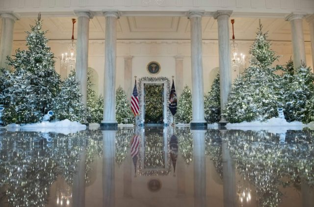 First photos and video of christmas white house are - Pictures of homes decorated for christmas on the inside ...