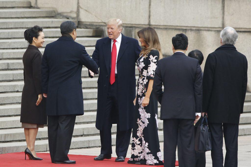 Trump China Asia Photo Showcase