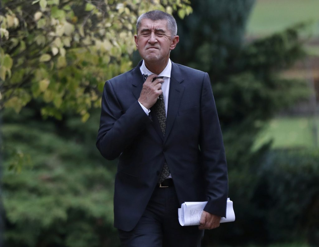 Czech PM-designate disagrees with moving embassy to Jerusalem
