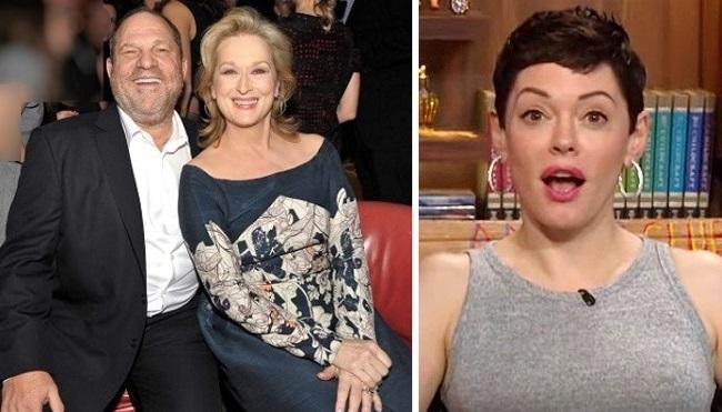 Rose McGowan slams Meryl Streep, others ahead of Golden Globes protest