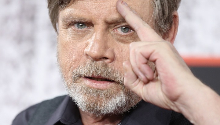 One year later: Mark Hamill tweets sweet tribute to Carrie Fisher