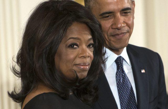 Getty Oprah, Obama