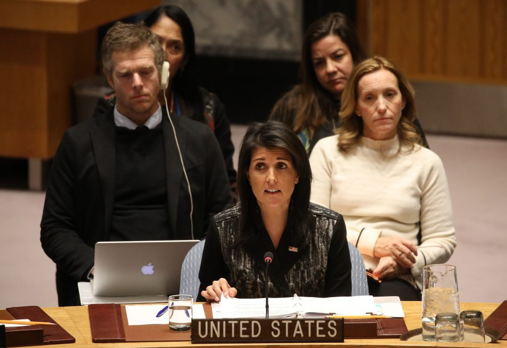 United Nations emergency session humiliating defeat for US