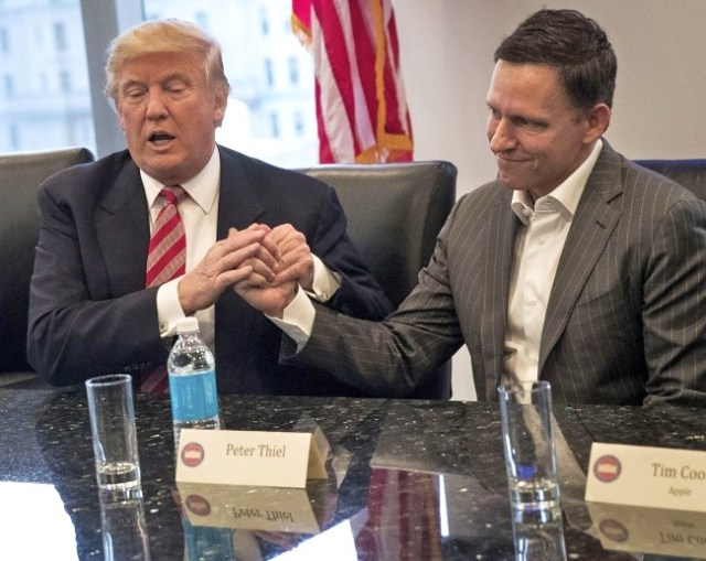peter thiel donald trump