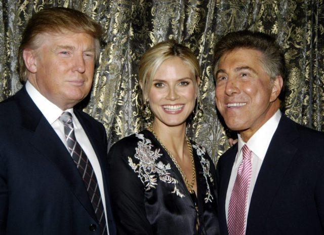 Getty Steve Wynn, Donald Trump