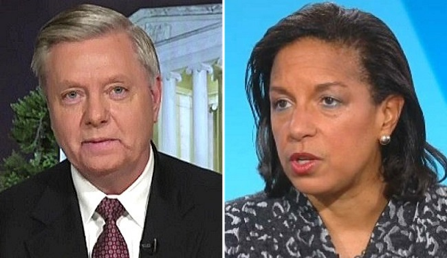 "Lindsay Graham wants Susan Rice to explain the contrived ""CYA"" email she sent to herself"